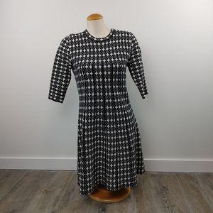 ELODIE ANTHRO | Geometric Sweater Dress Size Large
